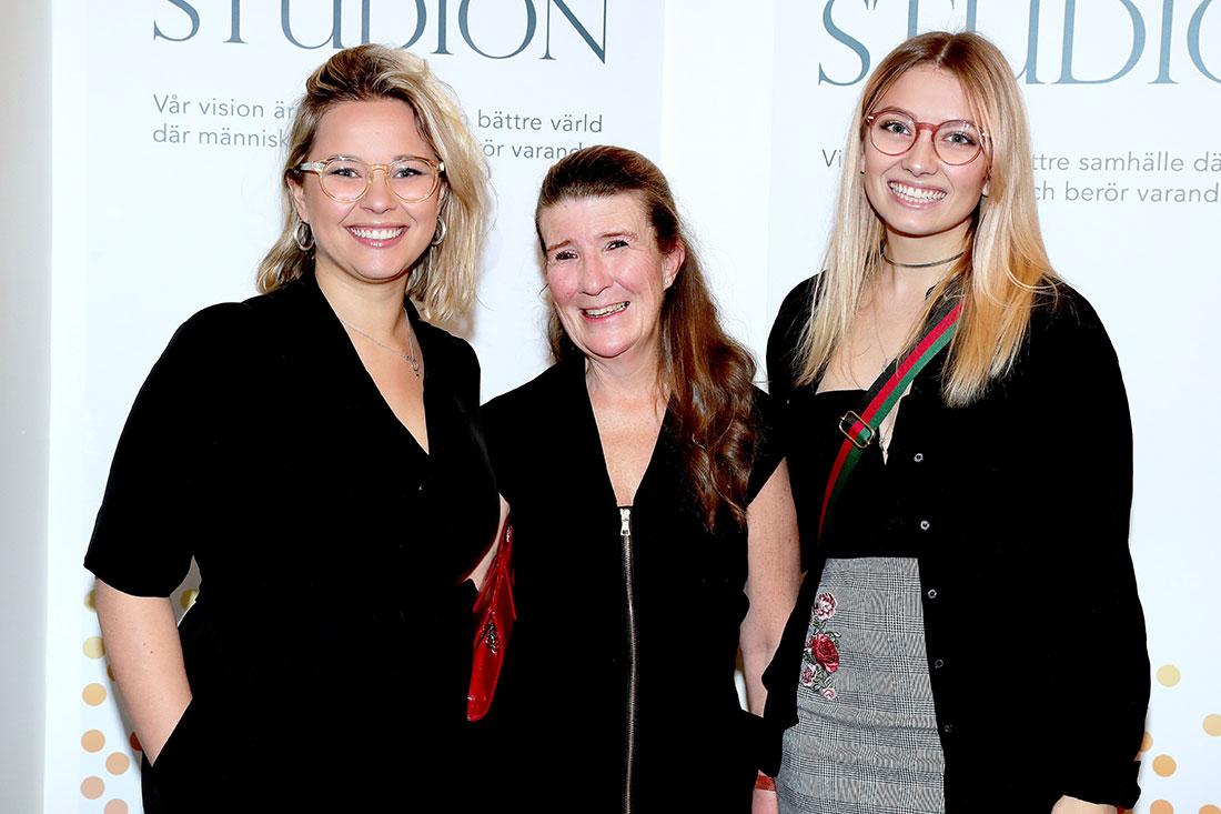Linn Arwidson, Kristina ter Schiphorst & Sofia Ahlström