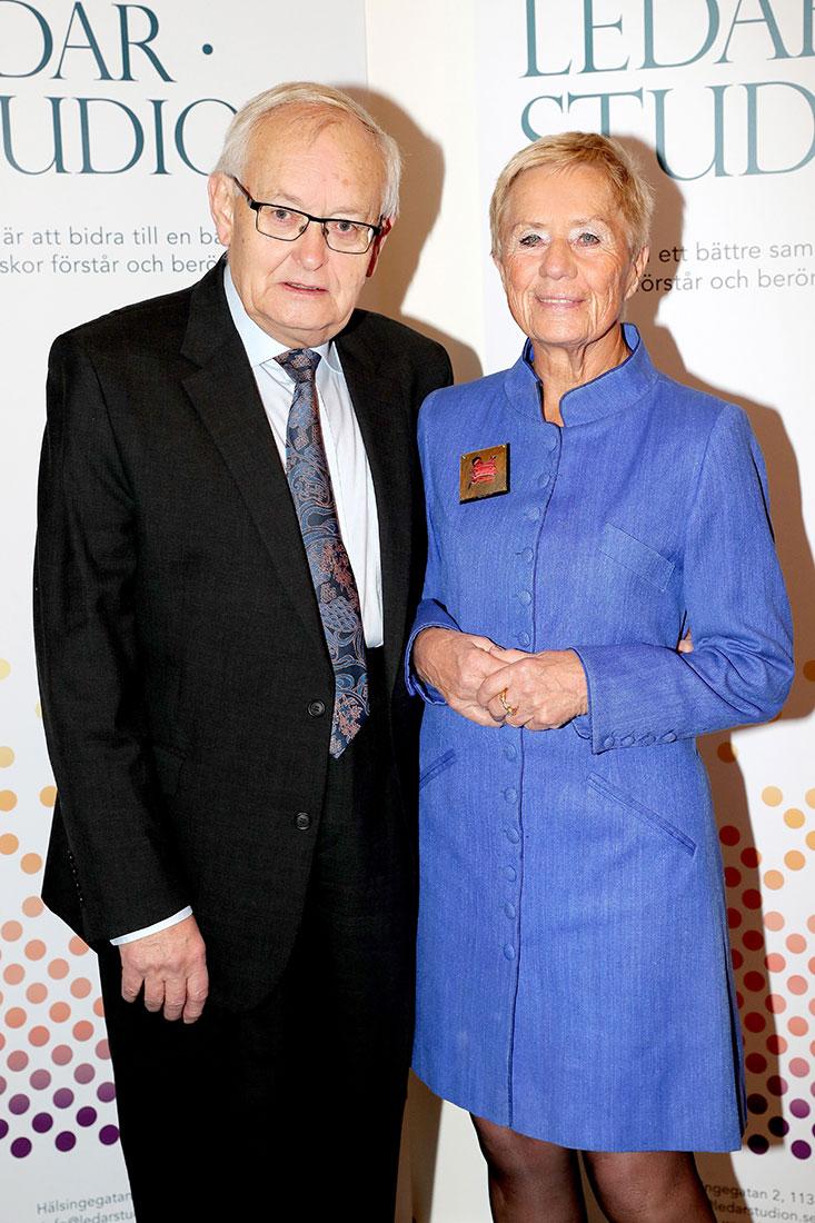 Birgitta Wistrand med sällskap