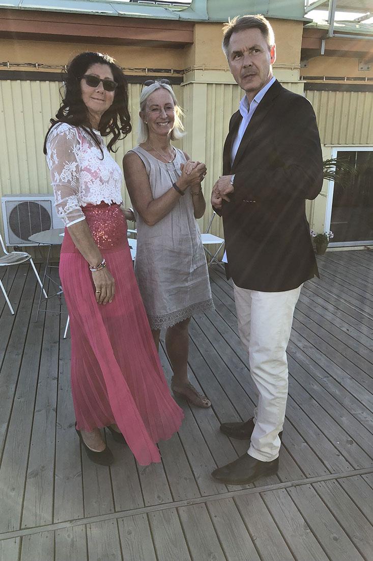 Lena Ahlström, Pia Wahlstedt, Rickard Ericsson