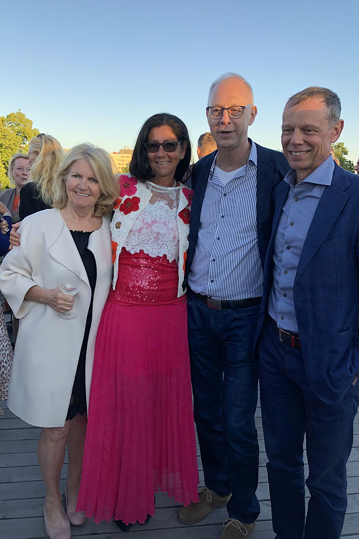 LIsa Fuglesang, Lena Ahlström, Håkan Andersson, Christer Fuglesang
