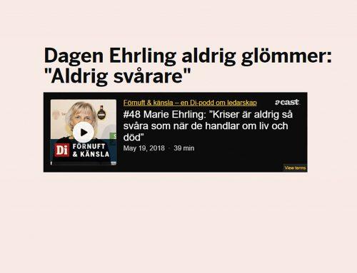 Marie Ehrling i Di:s ledarskapspodd Förnuft & Känsla