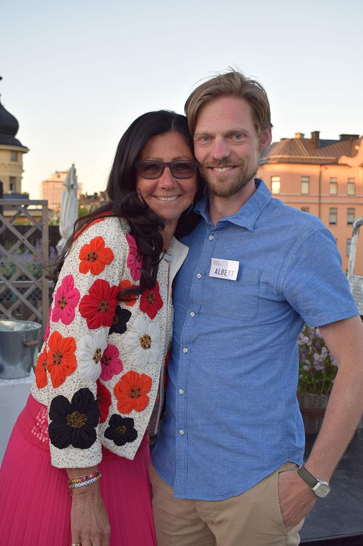Lena Ahlström, Albert Klintberg