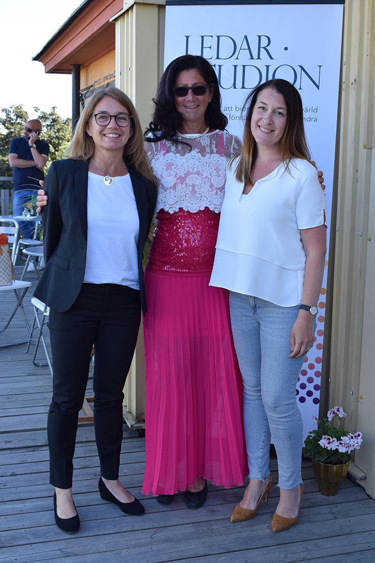 Jessica Häggström, Lena Ahlström, Sigrid Sörberg