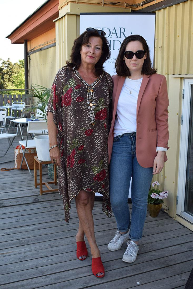 Monique Macksey med dotter