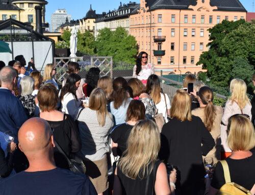 Sommarhälsning 2019 från Lena Ahlström, Ledarstudion