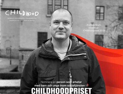 Nu är nomineringen till Childhoodpriset 2020 öppen!